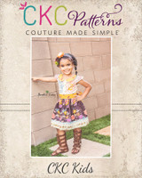 Jayne's Joyous Slip-on Dress and Peplum Sizes 2T to 14 Kids PDF Pattern