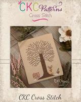 """4 Seasons """"Winter"""" Cross Stitch PDF Pattern"""