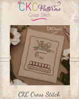"Country Home ""Farm Fresh"" Cross Stitch PDF Pattern"