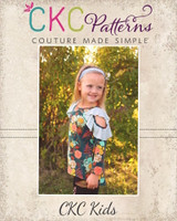 Jayla's Cold Shoulder Tunic Sizes 2T to 14 Kids PDF Pattern