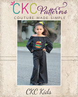 Mercy's Boho Romper Sizes 2T to 14 Kids PDF Pattern