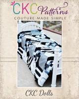 Xenia's XOXO Quilt Doll Sizes PDF Pattern
