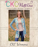 Casey's Hooded Raglan Cardigan Sizes XXS to 3X Adults PDF Pattern
