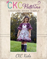 Evelyn's Dress Sizes 2T to 14 Kids PDF Pattern