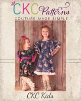 Sylvia's Sweet Knit Dress Sizes 2T to 14 Kids PDF Pattern