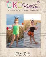 Monarch's Transition Dress Sizes 2T to 14 Kids PDF Pattern
