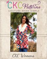 Fern's Fleece Scarf Collar Pullover Sizes XXS to 3X Adults PDF Pattern