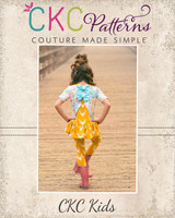 Aster's Amazing Layered Top Sizes 2T to 14 Kids PDF Pattern