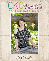 Ellis' Off the Shoulder Top Sizes 2T to 14 Kids PDF Pattern