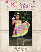 Sheena's Double Circle Dress and Tunic Sizes 2T to 14 Kids PDF Pattern