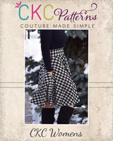 Duchess's Knit Circle Skirt Sizes XXS to 3X Adults PDF Pattern