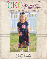 Tamara's Tulip Dress Sizes 2T to 14 Kids PDF Pattern