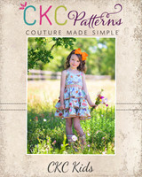 Robyn's Ruffle Top, Tunic and Dress Sizes 2T to 14 Kids PDF Pattern