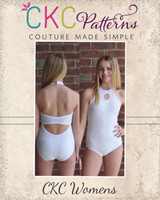 Qiana's Keyhole Leotard Sizes XXS to XL Adults PDF Pattern