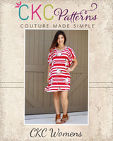 Serendipity's Boho Knit Top and Dress Sizes XXS to 3X Adults PDF Pattern