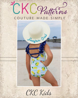 Shore's Simple Swim Sizes NB to 14 Kids PDF Pattern