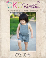 Rueben's Romper Sizes NB to 5T Kids PDF Pattern