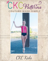 Makinley's Mesh Leotard Sizes 2T to 14 Kids  PDF Pattern