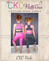 Ventura's Athletic Pants Sizes 2T to 14 Kids PDF Pattern