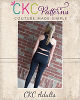 Ventura's Athletic Pants Sizes XXS to 3X Adults PDF Pattern