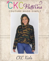 Maize's Oversized Shirt and Hoodie Sizes 2T to 14 Kids PDF Pattern
