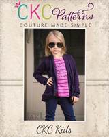 Chrysalis' Cardigan Sizes 2T to 14 Kids PDF Pattern