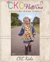 Cordelia's Dress Sizes 2T to 14 Kids PDF Pattern
