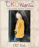 Kiara's Lantern Sleeve Cardigan Sizes 2T to 14 Kids PDF Pattern
