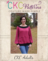 Serenity's Puff Sleeve Sweater Sizes XXS to 3X Adults PDF Pattern