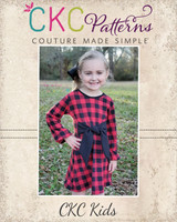 Lillith's Bishop Sleeve Top and Dress Sizes 2T to 14 Kids PDF Pattern