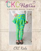 Rita's Ruffle Skirted Leggings Sizes 2T to 14 Kids  PDF Pattern