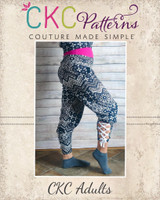 Echo's Yoga Pants Sizes XXS to XL Adults PDF Pattern