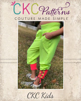Echo's Yoga Pants Sizes 2T to 14 Kids PDF Pattern