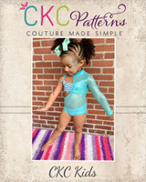 Rhyot's Legendary Leotard Sizes 2T to 14 Kids  PDF Pattern