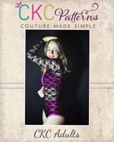 Rhyot's Legendary Leotard Sizes XXS to XL Adults PDF Pattern