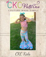 Anverly's Fitted Bell Pants 2T to 14 Kids PDF Pattern