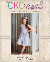 Liberty's Culottes Romper Sizes 2T to 14 Kids PDF Pattern