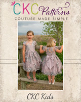 McKell's Majestic Dress Sizes 2T to 14 Kids  PDF Pattern