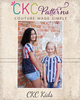 Urlotte's Pleated Back Raglan Sizes 2T to 14 Kids PDF Pattern