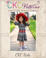 Carousel's Dress Sizes NB to 14 Kids PDF Pattern