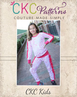 Jaffle's Jogging Suit Set Size 2T to 14 Tweens PDF Pattern