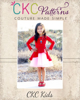 Lokelani's Holiday Dress Sizes 2T to 14 Kids PDF Pattern