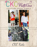 Denmark's Top & Dress Sizes NB to 14 Kids PDF Pattern