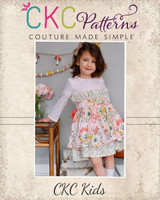 Esperanza's Ruffle Easter Dress Sizes 2T to 14 Kids PDF Pattern