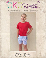 Thomas' Vintage Kids Shorts Sizes 2T to 14 Kids PDF Pattern