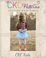 Estonia's Pleated Skirt Sizes 2T to 14 Kids PDF Pattern