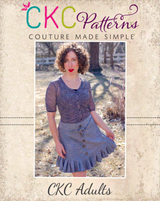 Estonia's Pleated Skirt Sizes XXS to 3X Adults PDF Pattern