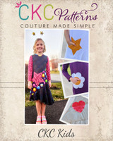 Leigh's Embellished Pocket Dress Sizes 2T to 14 Kids PDF Pattern