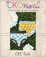 Chastity's Panties Sizes 2T to 14 Kids PDF Pattern