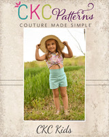 Helia's Hot Pants Sizes 2T to 14 Kids PDF Pattern